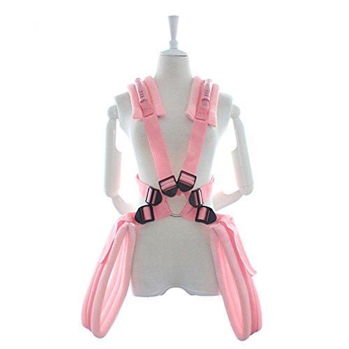 SM Bondage Sex Spielzeug Schwarz Loveswing Schaukel Liebesschaukel (Pink)