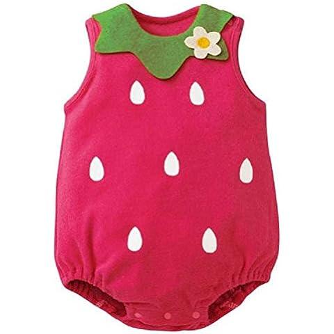 Kingko® Belli infantili Neonato bambini della ragazza del bambino pagliaccetto