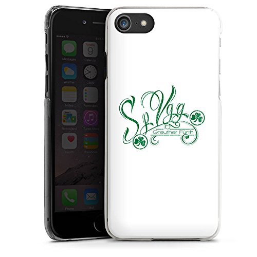 Apple iPhone X Silikon Hülle Case Schutzhülle Greuther Fürth Fanartikel SpVgg Bundesliga Hard Case transparent