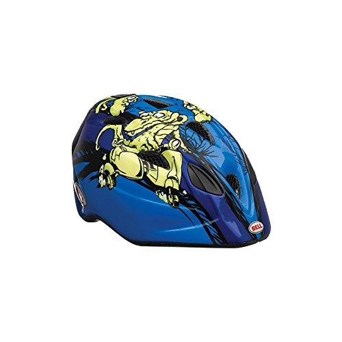 BELL Kids Tater Helm One Size Blau - Blue/Green Gators
