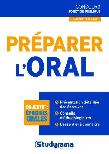 Préparer l'oral par Marc Dalens