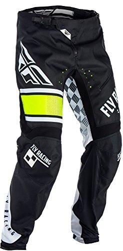 Fly Racing Kinetic Hose Kids MTB/BMX, schwarz-weiß, Größe: 26, Kinder Dirtbike Dirtjump Mountainbike Pant