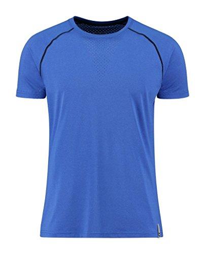 Hummel Herren T-Shirt Jasper Short Sleeve Tee Dazzling Blue Melange