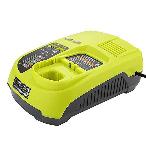 Kbsin212 Ladegerät/Wartung Für RYOBI P117,12V-18V Lithium Nickel Universal Ladegerät Mit USB Schnittstelle (grün)