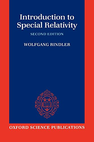 Introduction to Special Relativity (Oxford Science Publications) por Wolfgang Rindler