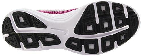 Nike Revolution 3 (GS), Chaussures de Running Compétition Mixte Enfant Noir (Black/metallic Silver-hyper Pink-white)