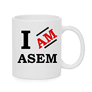 Ich bin ASEM Offizielles Tasse