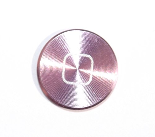 iPhone-Zubehör, Home-Tasten-Aufkleber aus farbigem Metall, für iPhone 6,5s, 5c, 5,4,3, iPhone, iPad, iPod (Home Sticker Ipod Für 4)