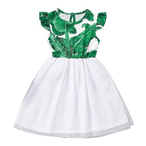 Allence Kleidung Baby Mädchen Prinzessin Kleid Blumenmädchenkleid Taufkleid Festlich Kleid Hochzeit Partykleid Festzug Kinderkleidung