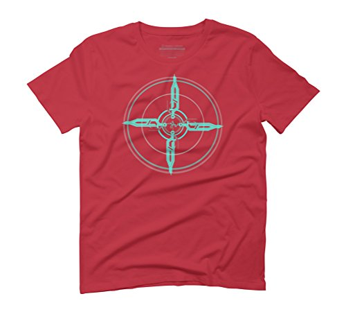 Tech Summoning Men's Graphic T-Shirt - Design By Humans Red