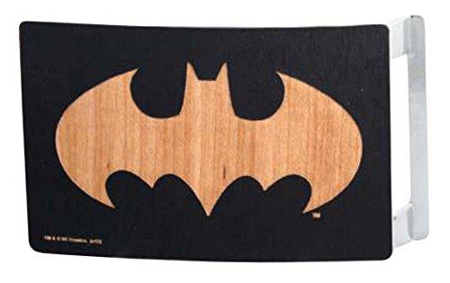 Buckle Down Batman superhero comics dc logo wooden bat buckle belt for children One size Multicolor