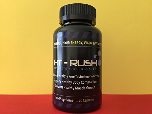 HT-Rush Muscle Supplement- 90 Capsules FREE FAST DELIVERY