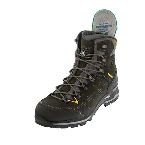 Lowa Vantage GTX Mid, Chaussures de Randonnée Hautes Homme anthrazit gelb