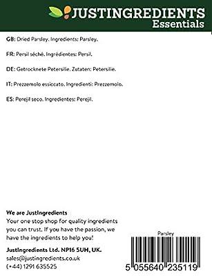 JustIngredients Parsley Tub 130 g (Pack of 2)