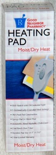 GNP Heating Pad Moist/Dry Heat by Good Neighbor Pharmacy (Good Neighbor Pharmacy)