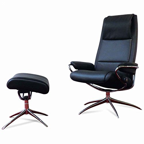 Stressless Sessel Paris M - High Back/Standard Base (mit Hocker) Ausstellungsstück
