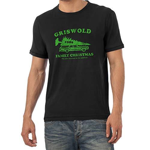 Texlab Griswold Family Christmas (Schöne Bescherung) - Herren T-Shirt, Größe L, schwarz