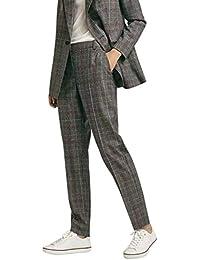 Suvimuga Mujer Pantalones Rectos Pantalones Rectos Casual 85009ad35c6
