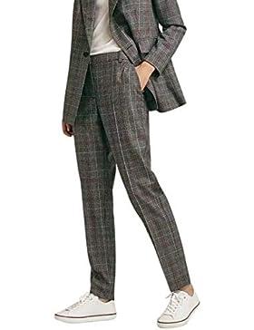 Suvimuga Mujer Pantalones Rectos Pantalones Rectos Casual