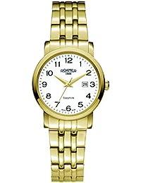 Roamer Damen-Armbanduhr Analog Quarz Edelstahl beschichtet 709844 GM1