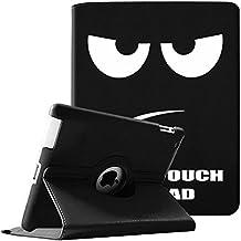 Fintie Giratoria Funda para iPad 4/3/2 - Rotación de 360 Grados Case Cover Carcasa con Función de Auto-Reposo/Activación para Apple iPad 4/iPad 3/iPad 2, Don't Touch