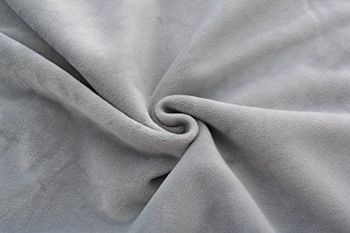 WanYang Femmes Imprimé à Manches Longues en Molleton Sweatshirt Blouse pour les Pulls de Printemps Automne Casual Pullover Gris