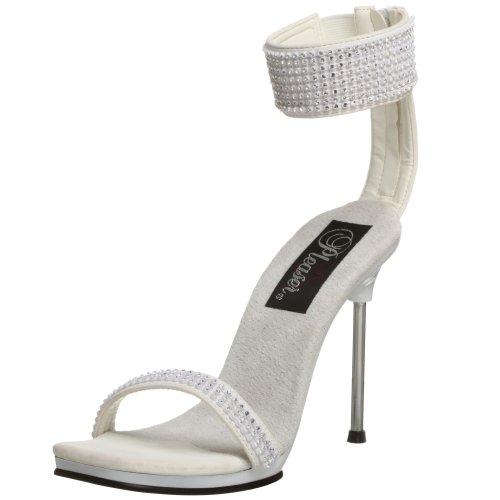 Pleaser - Chic 40, Sandali con tacco  da donna bianco(Weiß)