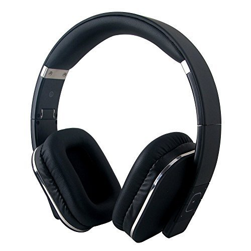 Bluetooth Headphones - August EP650 - Wireless Over Ear Headphones with Multipoint / NFC / 3.5mm Audio In / Headset Microphone