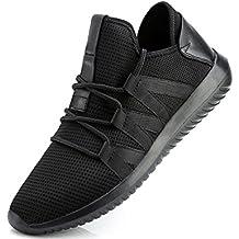 GNEDIAE Zapatillas Hombre Zapatillas Running Hombre Zapatillas Deportivas Hombre de Cordones en Gimnasio Zapatos Ligeros Zapatos