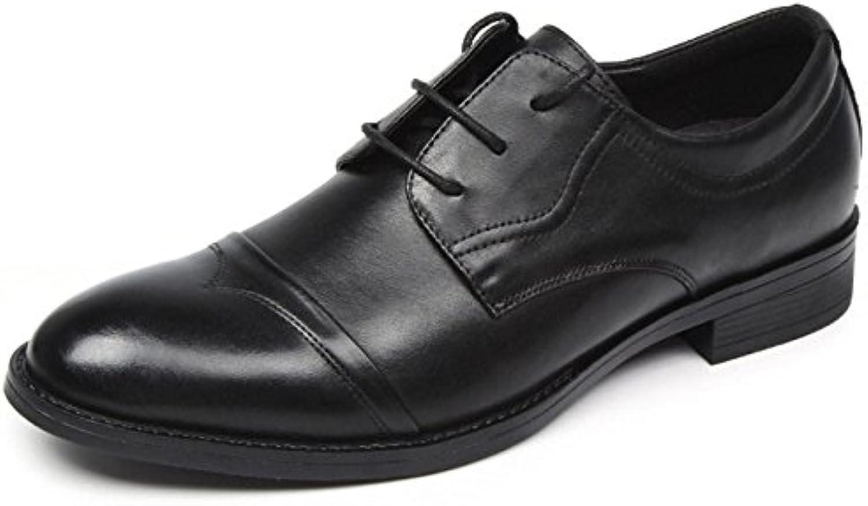 Formal para Hombre Zapatos Clásicos Zapatos De Suela De Cuero Hechos A Mano Oxford Moda Zapatos De Cuero con Cordones... -