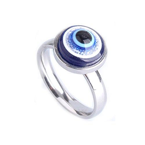 Nikgic Fashion Persönlichkeit Blau Augapfel Styling Ring Mode Ring Einfache Tägliche Damen Ring Zubehör