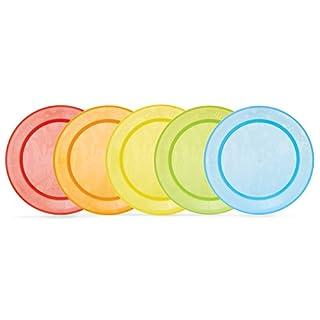 Munchkin - Pack de 5 platos para comida, surtido de colores (B00ARQKOY4)   Amazon Products