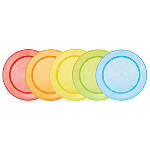Piattini per Bambini Multicolori Munchkin Confezione da 5
