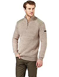 WoolOvers Pull Randonneur - Homme - Pure Laine
