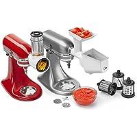 Kitchenaid 5KSMFPPC Set di 3 Accessori per Robot da Cucina KitchenAid