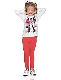 5a6b43b6f64a0 FUTURO FASHION Full Length Cotton Cotton Girls Leggings Plain Pants Kids