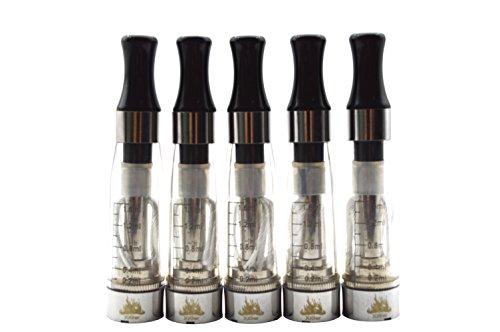 XiGer 5er Pack - CE4 Atomizer für E-Zigaretten Kein Nikotin