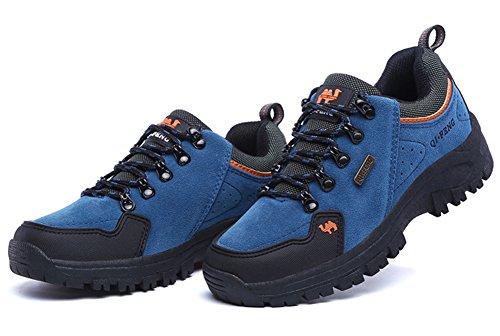 add3af9d573a9 Minetom Trekking Chaussures Homme Femme, Chaussures De Randonnée  Imperméables Escalade Chaussures Unisexe Glissement Résistant Sneakers ...