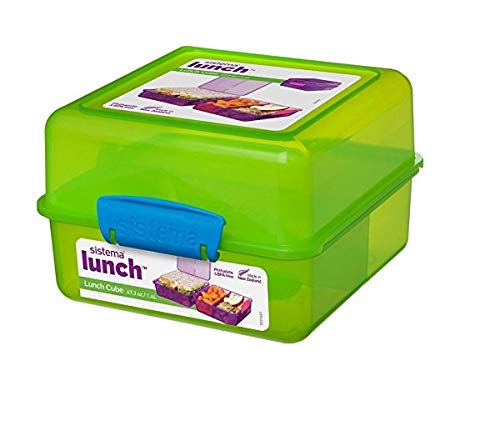Sistema 1735 Lunch-Box, Farblich sortiert