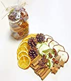 Potpourri Weihnachten Weihnachtsfrüchte Mix Weihnachtliche Deko mit Orangen Zimt Anis Apfelscheiben Kokossterne Zapfen Kränze Gestecke Advent