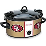 Crock-pot SCCPNFL603-SF San Francisco 49'ers Slow Cookers, White