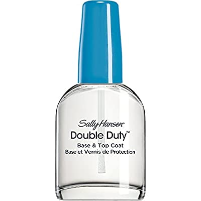 Sally Hansen Double Duty Strengthening Base and Top Coat, 13.3 ml by Coty