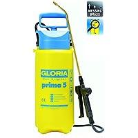 GLORIA Prima 5 Drucksprühgerät 5 Liter, Messing-Lanze und Düse