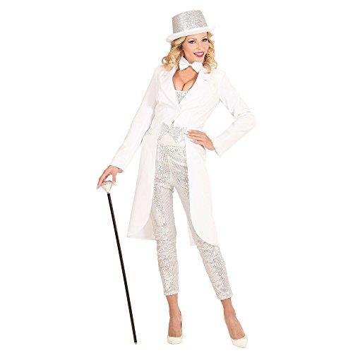 Widmann 59023 - Frack kostüm für Damen, L, white