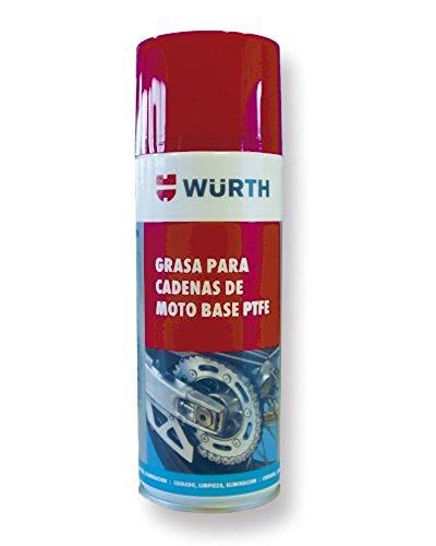Wurth Grasa Cadenas de Moto con Base PTFE