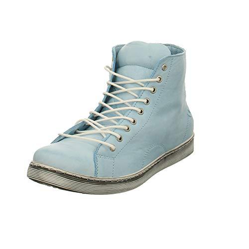 Andrea Conti Damen Sneaker Schnürboot in Hellblau 0341500-019 blau 298178