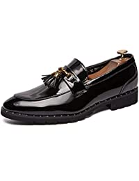 Para De es Hombre Charol Zapatos Amazon Mocasines Hvqw67