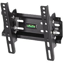 "Thomson WAB646 - Soporte de pared para televisores de 10"" a 46"" (carga máxima 30 kg, VESA 200x200) negro"