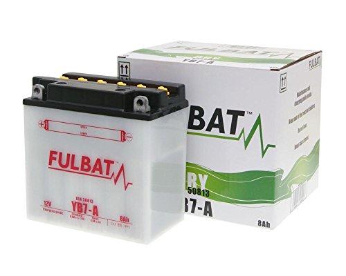 Batterie FULBAT YB7-A DRY inkl. Säurepack für ARTIC CAT All EFI Models 500cc & Over (W/O El.-St[ inkl.7.50 EUR Batteriepfand ] -