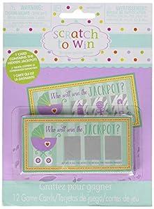 Amscan-380049bebé ducha tarjetas de Scratch